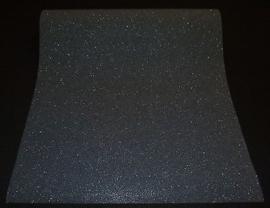 zwart glitter vlies behang 02403-10