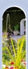 2-1889 Komar Fotobehang Najads Garden tuin groen behang