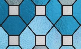raamfolie glas in lood statisch 45 cm ptx22