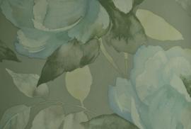 Behang bloemen blauw AL916-05 Orlando-Behangexpresse