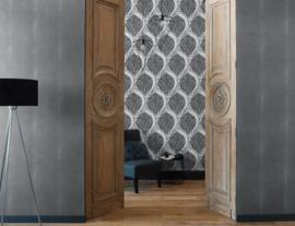 barok behang grıjs 30586-4