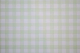 Behang Expresse Groen wit Ruitjes 23804