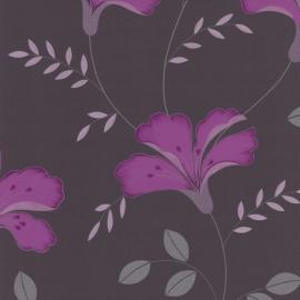 bloemen vlies behang 42066-10