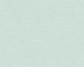 Groen uni vlies behang 30407-4