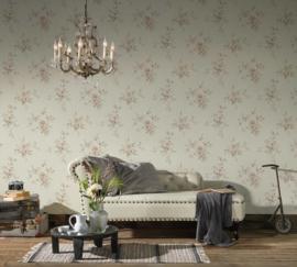 Engelse bloemen behang 37231-4