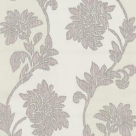 02311-20 grijs stijlvol bloemen barok behang