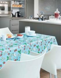 150-022 blauw rood groen tafelzeil