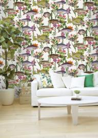 Dutch First Class The Enchanted Garden behang Comino 98900 vis