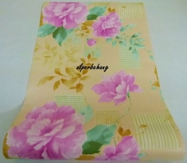 paars bloemen behang vinyl xxx68