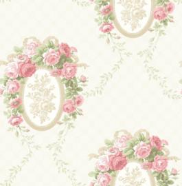 Engelse bloemen behang fd23238
