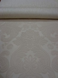 barok behang vinyl wit 122