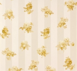 Romantica Bloemen creme goud 30447-5 AS Creation
