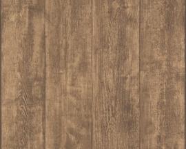 AS Creation Murano 7088-23 Wood bruin behang