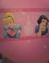 roze blauw stijlvol prinsessen behangrand 46