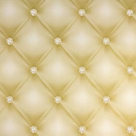 Chesterfield-Look met 3D diamanten behang 34144-5