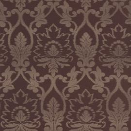 Bruin glim barok behang rasch 230536