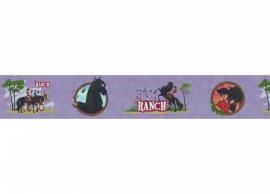 zwarte PAARDEN behangrand -Noordwand Les Aventures 27140703 dieren
