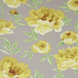 modern 9eel bloemen Engels vlies x1