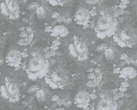 bloemen behang dubbelbreed 34773-7