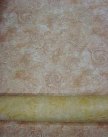 beige bruin takken Lambrisering behang vlies 58