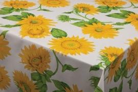 150-014 geel groen zonnebloem tafelzeil