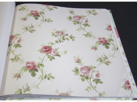 Engelse bloemen behang fd23204
