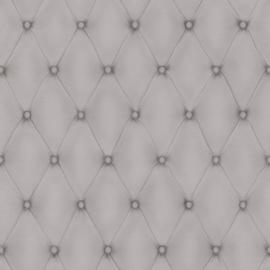 chesterfield 3d behang grijs zilver 576221