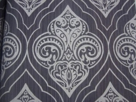 barok behang taupe grijs vlies  xx 99