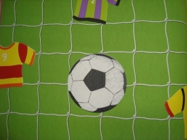 groen voetbal behang vlies xx57