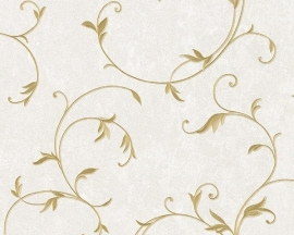Behang planten  creme goud AS Romantica 30418-6