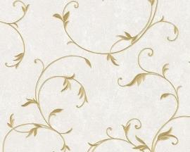 Behang planten  creme goud AS Romantica 30418-6