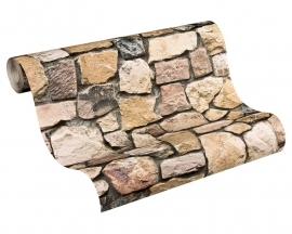 Marokkaanse stijl  692412 AS Creation natuursteen behang 6924-12