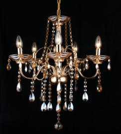 kroonluchter klassiek diamant hanglamp gold 5160-5