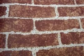 natuur steen vinyl behang donker rood 24