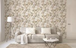 vogel behang bloemen 36498-2