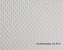 Intervos Wall-Structure PP-12 Glasvlies Pre-Painted middel/fijn 50x1M