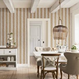 Riviera Maison Rieten Streep 18310 Behang
