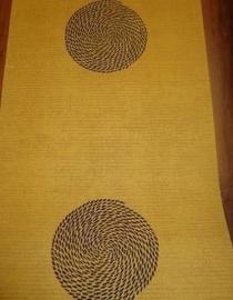 geel zwart retro behang opruiming 7