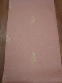 klassiek behang roze bloemen behang 5