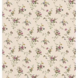 Engelse bloemen Dutch Dollhouse 3 behang 22103