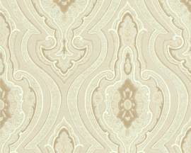 Barok beige behang vlies 96107-5