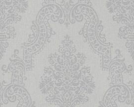 AS Creation Elegance Barok grijs behang 93677-3