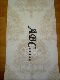 behang beige creme brokant barok 181