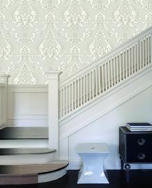 Charming Florals barok wit beige 88503