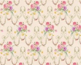 engelse bloemen behang romanze as creation 31281-5