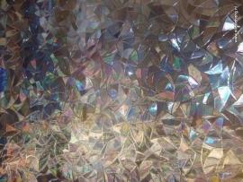 statische raam folie kleur zarame