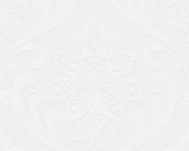 wit overschilderbaar behang barok 95661-3