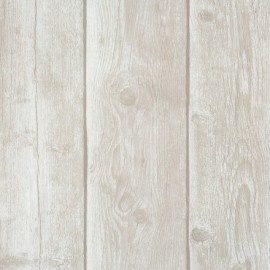 BN Essentially Yours 47570 Houten Planken behang beige/bruin