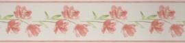 bloemen behangrand breed xxl