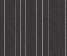 768824 zwart zilvergrijs streep behang